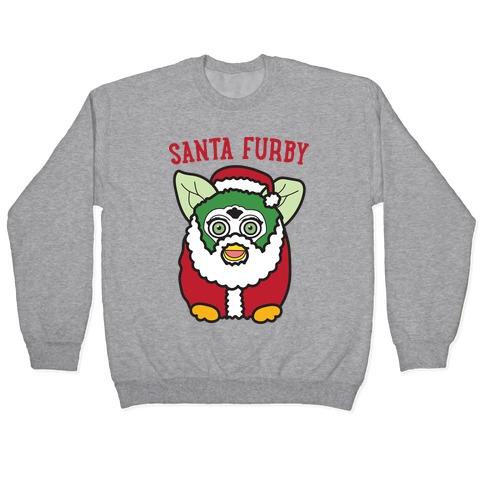 Santa Furby Pullover