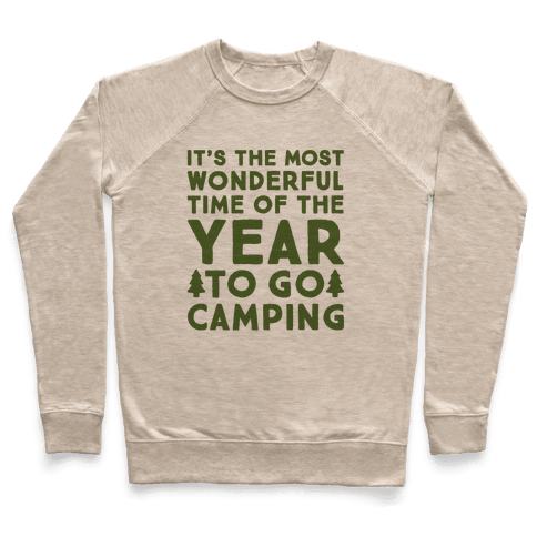 It's The Most Wonderful Time of The Year To Go Camping