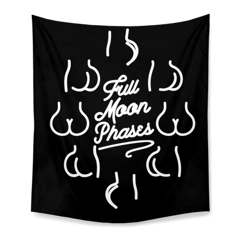 Full Moon Phases  Tapestry