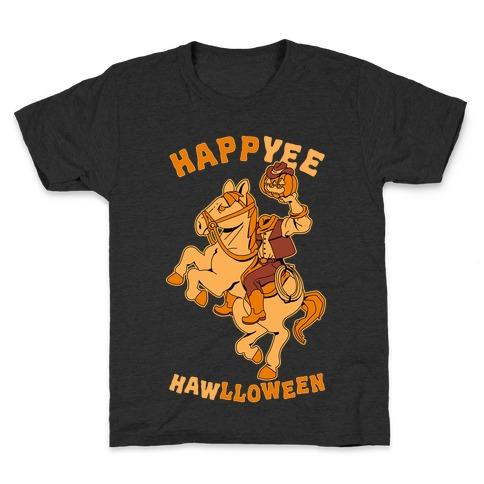 HappYEE HAWlloween Headless Cowboy Kids T-Shirt