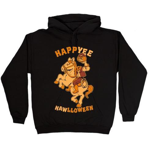 HappYEE HAWlloween Headless Cowboy Hooded Sweatshirt