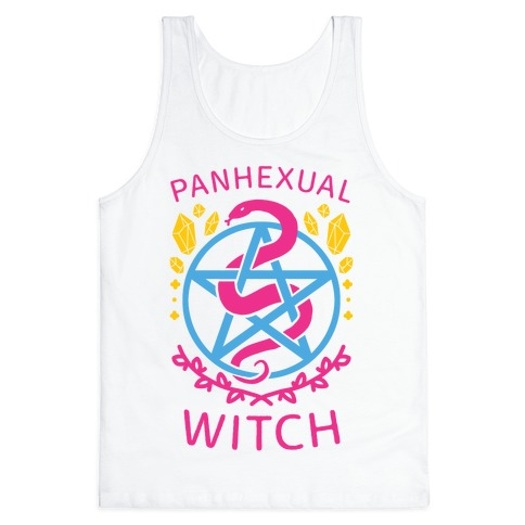 Panhexual Witch Tank Top