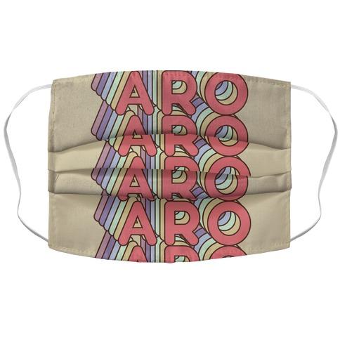 Aro Retro Rainbow Face Mask
