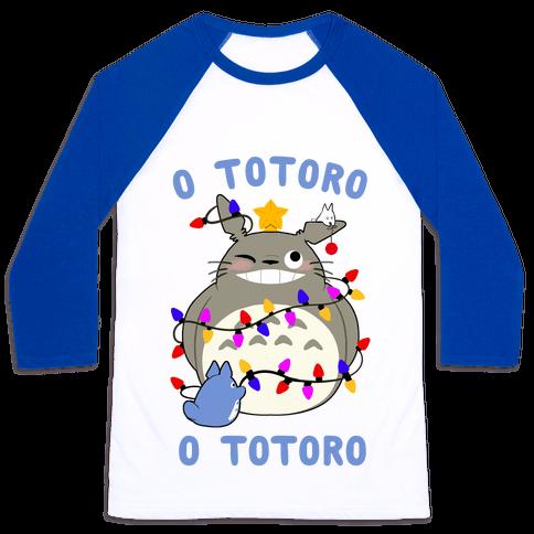 O Totoro, O Totoro Baseball Tee