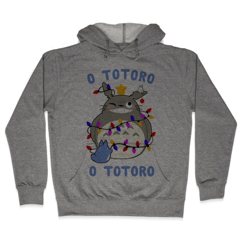O Totoro, O Totoro Hooded Sweatshirt