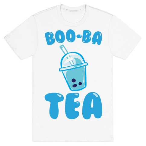 Boo-Ba Tea (Ghost Boba Tea Parody) T-Shirt