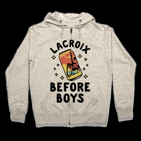 LaCroix Before Boys Zip Hoodie