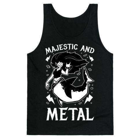 Majestic And Metal Tank Top