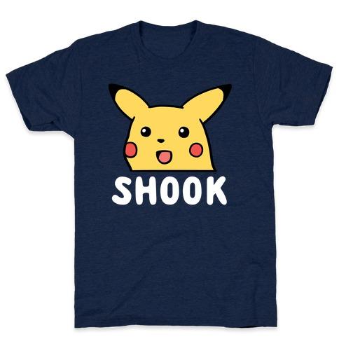 Pika-Shook Mens/Unisex T-Shirt