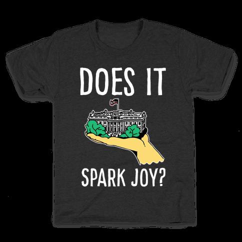 Does The White House Spark Joy Kids T-Shirt