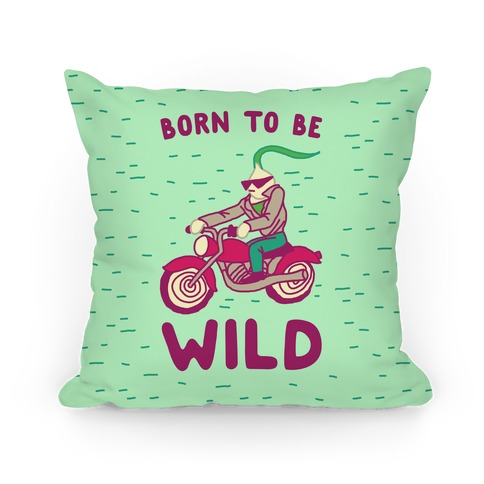 Born to be Wild Onion Pillow