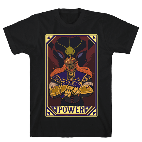 Power - Ganondorf Mens T-Shirt