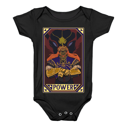 Power - Ganondorf Baby Onesy