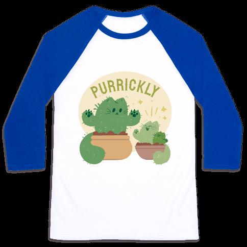 Purrickly! Baseball Tee