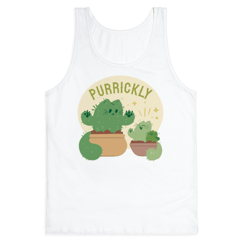 Purrickly! Tank Top