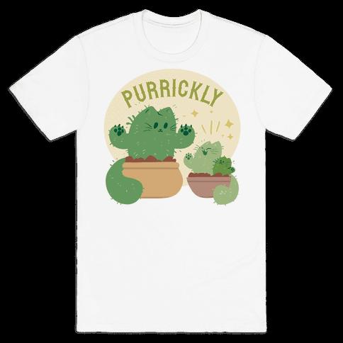 Purrickly! Mens T-Shirt