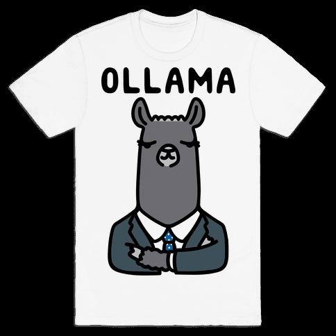 Ollama Parody Mens T-Shirt