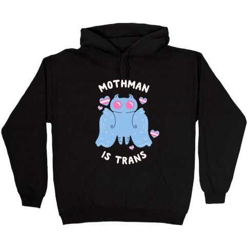 Trans Icon: Mothman Hooded Sweatshirt