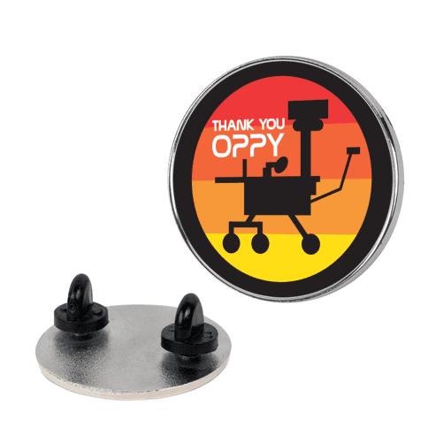 Thank You, Oppy Pin