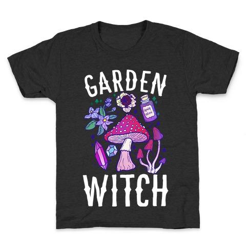Garden Witch Kids T-Shirt