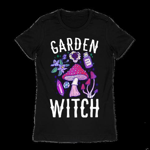 Garden Witch Womens T-Shirt