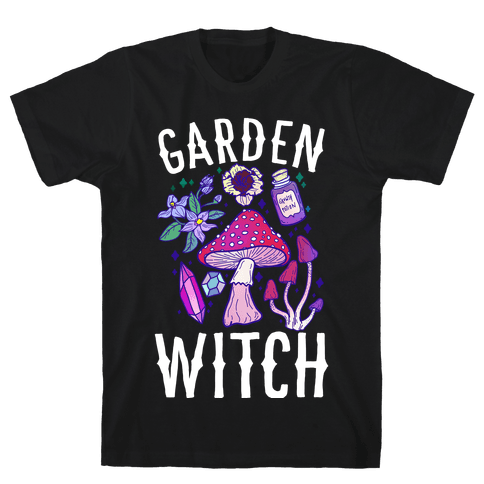 Garden Witch Mens/Unisex T-Shirt