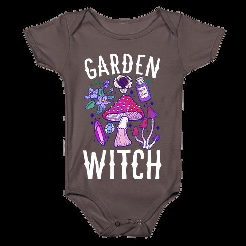 Garden Witch Baby One-Piece