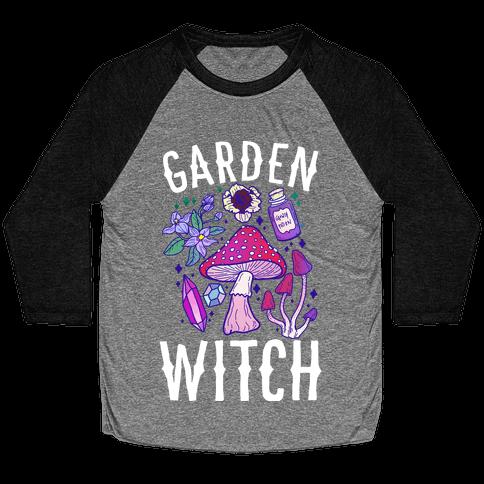 Garden Witch Baseball Tee