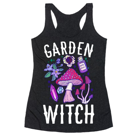 Garden Witch Racerback Tank Top