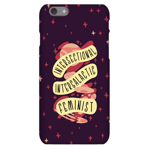 Intersectional Intergalactic Feminist Phone Case