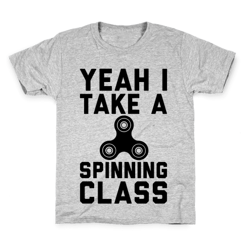 Yeah I Take A Spinning Class  Kids T-Shirt