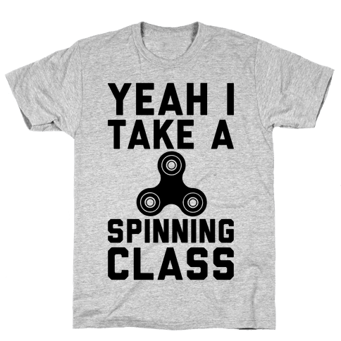Yeah I Take A Spinning Class  Mens T-Shirt