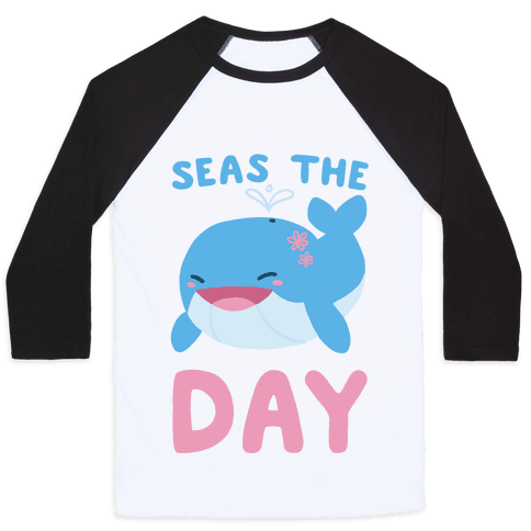 Seas the Day Baseball Tee