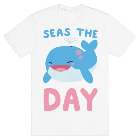 Seas the Day Mens T-Shirt