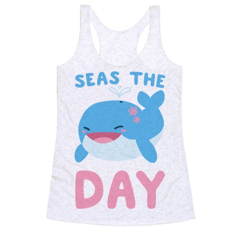Seas the Day Racerback Tank Top