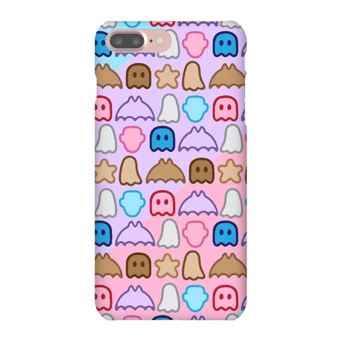 Spoopy Cereal Parody Pattern Phone Case
