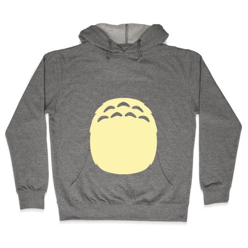 Totoro Tummy Hooded Sweatshirt