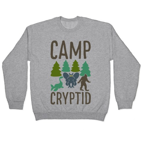 Camp Cryptid Pullover