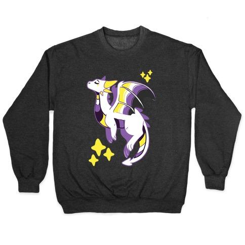 Non-Binary Pride Dragon Pullover