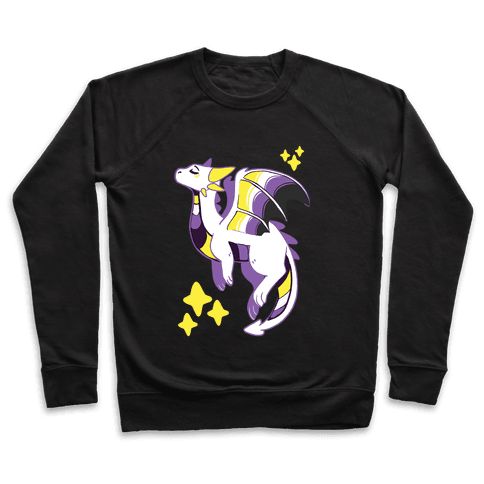 Non-Binary Pride Dragon Pullover