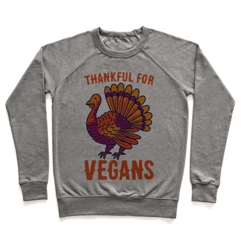 Thankful For Vegans Pullover
