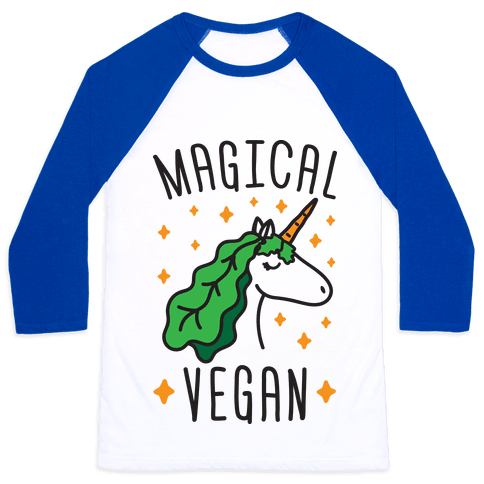 Magical Vegan Baseball Tee