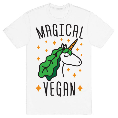 Magical Vegan Mens T-Shirt