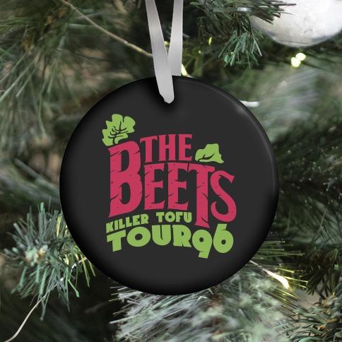 Beets Tour Ornament