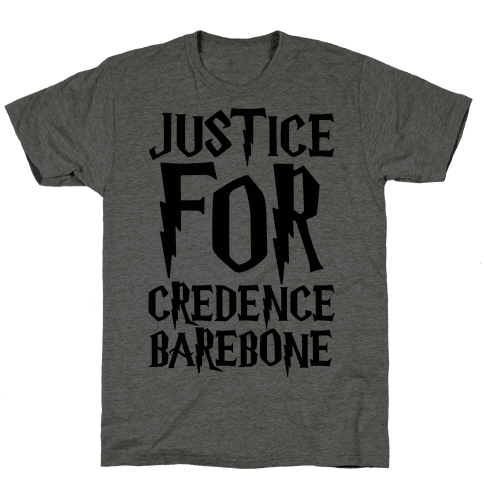 Justice For Credence Barebone  Mens T-Shirt