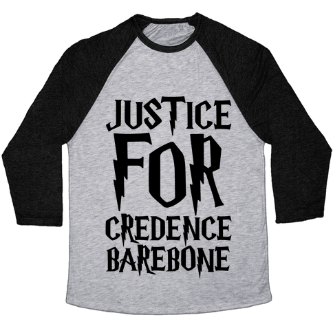 Justice For Credence Barebone  Baseball Tee