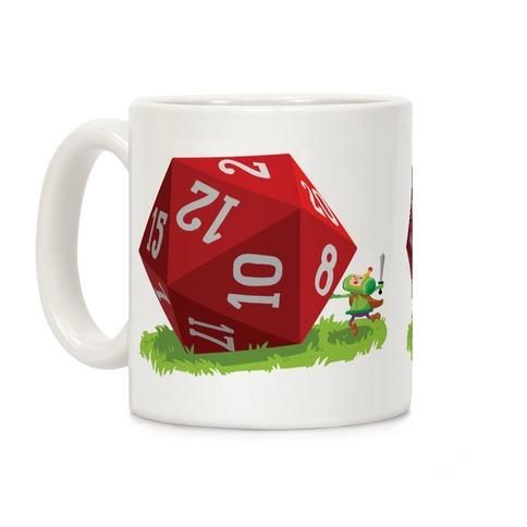 D20 Katamari Coffee Mug