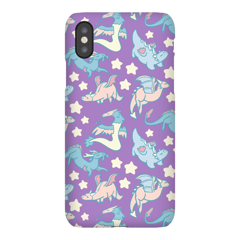 Dreamy Dragon Pattern Phone Case