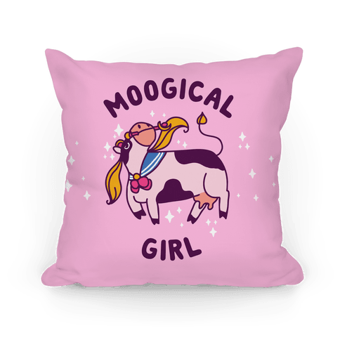 Moogical Girl Pillow