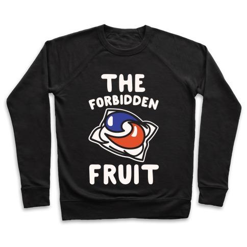 The Forbidden Fruit White Print Pullover